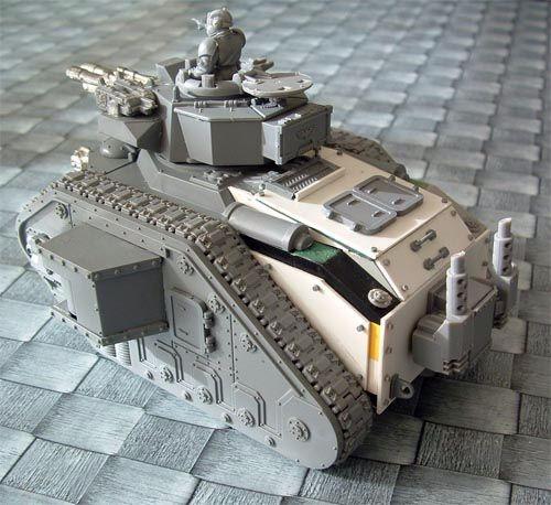 Plasticard converted Leman Russ | Imperial guard | Pinterest