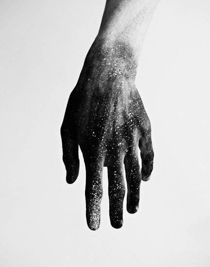 Under the skin.
