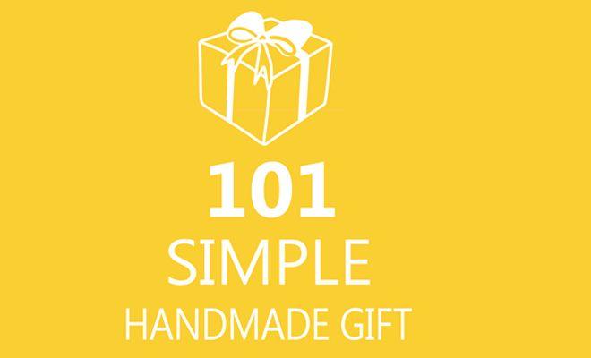 101 zelfgemaakte cadeautjes