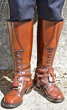 RCMP boots -- Strathcona boots made by the Alberta Boot Co.