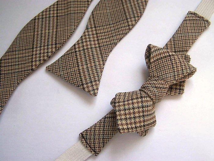 Как сшить галстук - бабочку (DIY+выкройка) / Простые выкройки / Модный сайт о стильной переделке одежды и интерьера