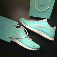 Tiffany Blue Nike Free 2012 Running Shoes Silver Womens $49.99