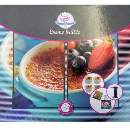 Create gorgeous Creme Brulees like a Chef