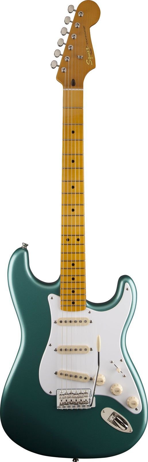 Squier Classic Vibe 50s Stratocaster Electric Guitar www.guitaristica.org #electricguitar #guitars #guitaristica