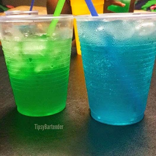 Adios mother fucker recipe green lantern cocktail recipe for Orange and blue cocktails