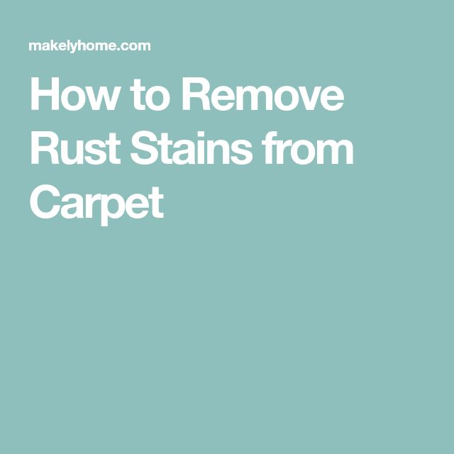 25+ unique Remove rust stains ideas on Pinterest | The ...