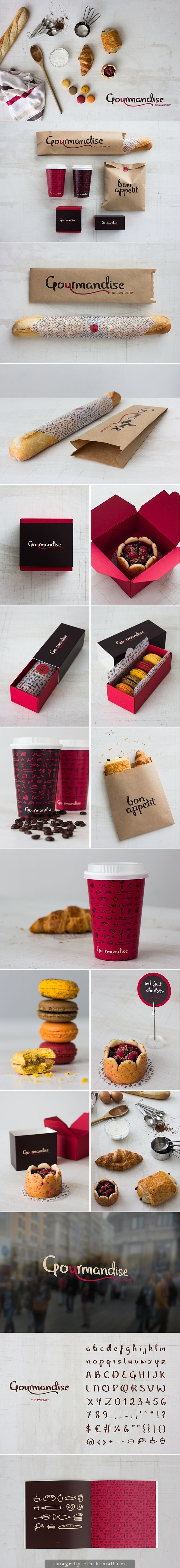 Gourmandise Belgian Bakery on Behance