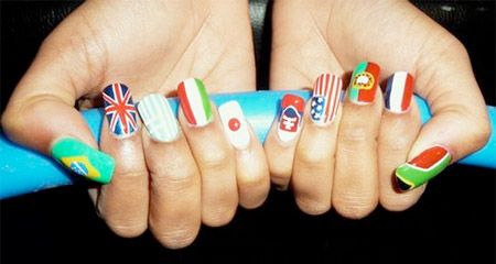 Will get this done in honor of the Olympics, but with my own pick of the flags of course :)