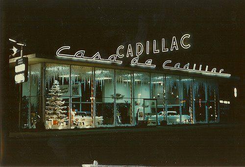 Casa de Cadillac Christmas 1955