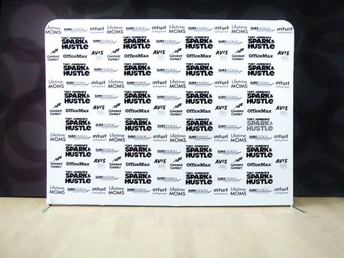 Our media backdrop banners / media backdrops are lightweight and ...