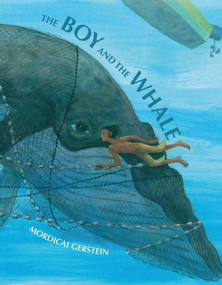 The Boy And The Whale (Roaring Brook Press, November 21, 2017) written and illustrated by Mordicai Gerstein is about a child of the sea faced with a difficult decision.