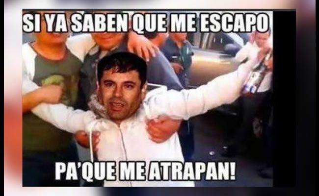 """Memes de la recaptura de alias El """"Chapo""""."""