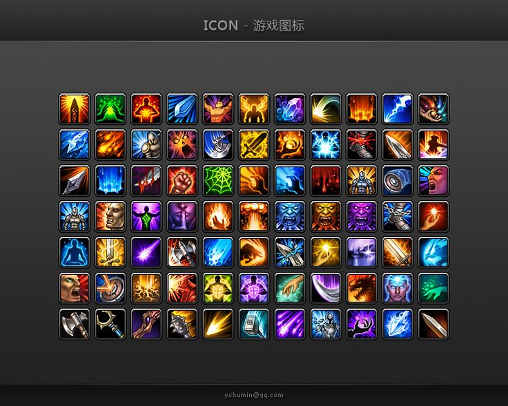 Game Icons - Skill by yshumin.deviantart.com on @deviantART
