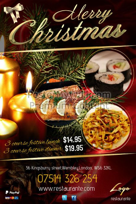 Best Restaurant Flyers Images On   Amazing Flyers
