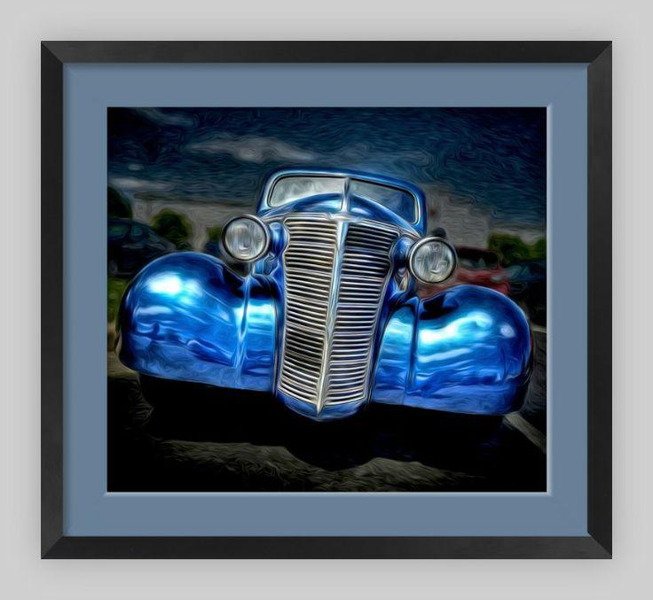 Pontiac Metallic Blue