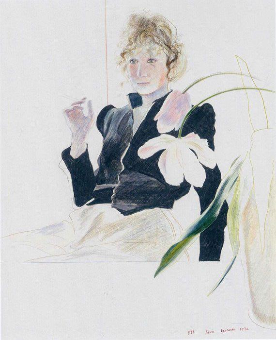 David Hockney, Дэвид Хокни род. 9 июля 1937, Брэдфорд - Музей рисунка