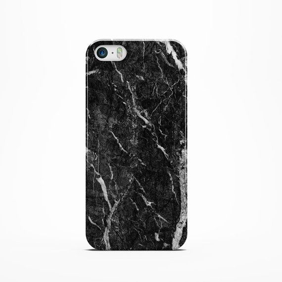 BLACK MARBLE iPhone 6 Case 4 /4s /5/ 5s /5c Case