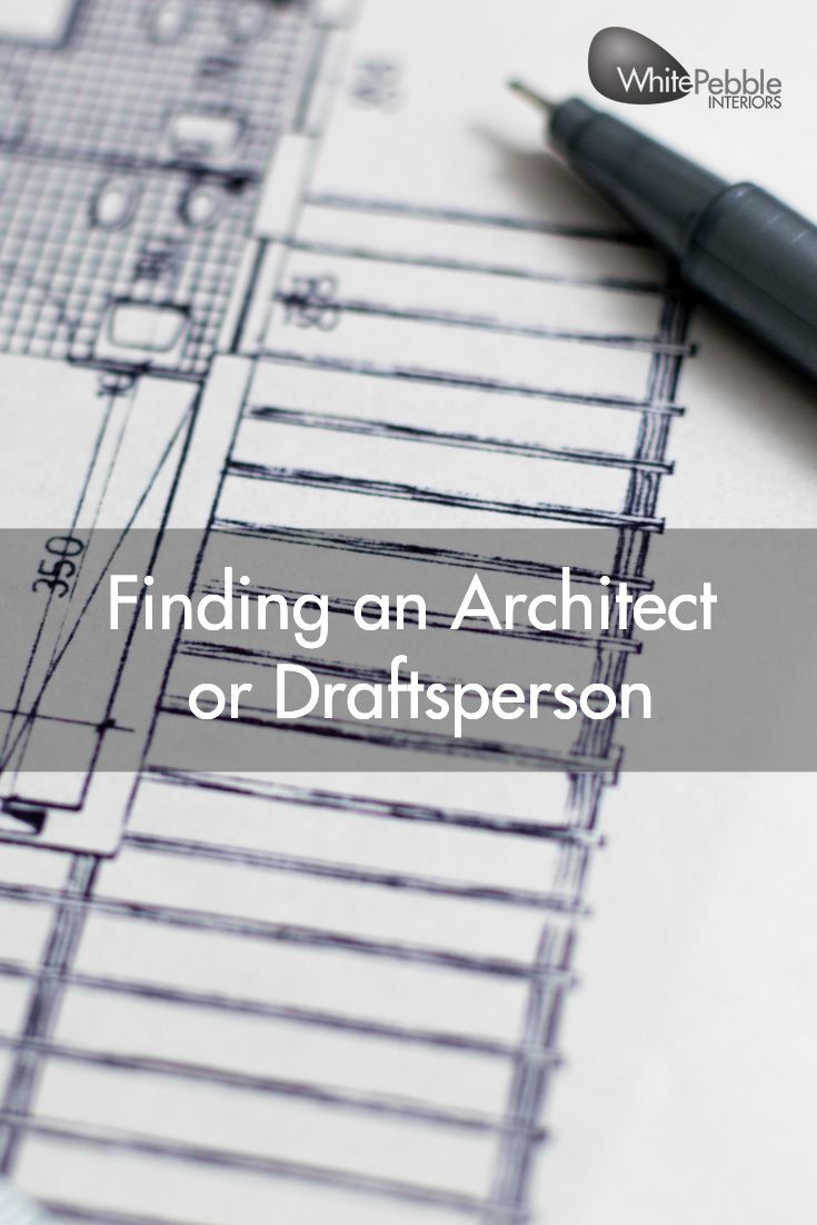 Wondering whether to get an architect or draftsman to work with you on your home? Read our latest blog to find out more.  #whitepebbleinteriors #yourforeverhome #buildstages #newbuilds #renovations #building #newhomes
