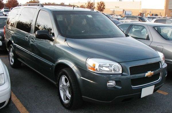 2006 Chevy Uplander Problems Chevy Uplander Chevy Mini Van