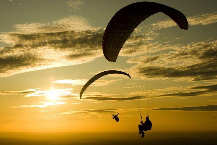bucket list - paragliding