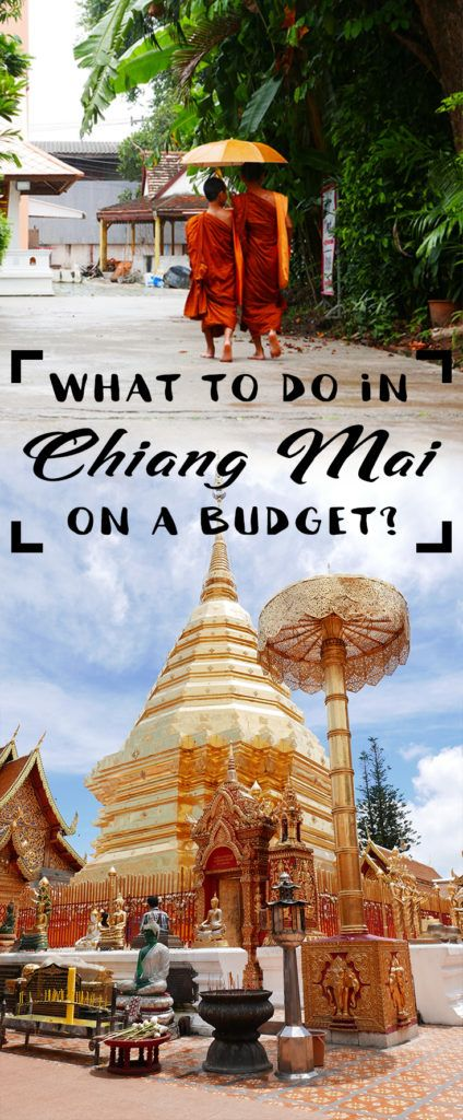 Chiang Mai is one of the nicest cities you will find in Thailand but some activities can be a bit a pricey. Check out this guide if you are travelling on a budget!