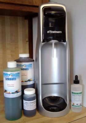 Alternatives to SodaStream or Primo Flavorstation Flavorings - this guy is fantastic! He lists a ton of information, weighs the pros and cons and calculates the total cost, with comparisons.