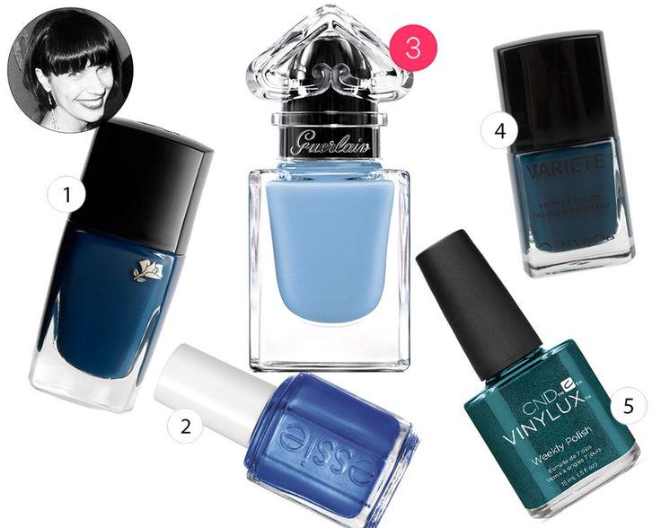 Синий лак для ногтей — хит сезона. Пять самых красивых оттенков выбрала бьюти-редактор «Леди Mail.Ru» Марина Сютаева.