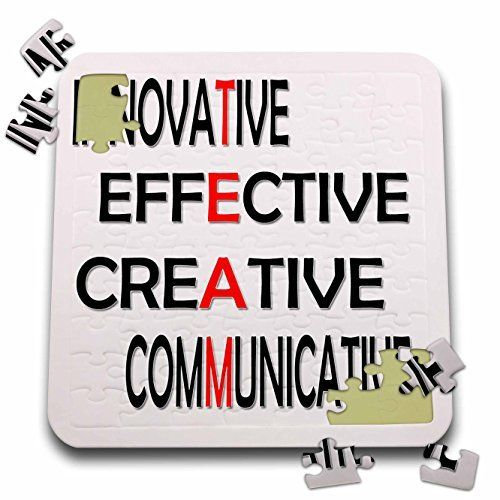 RinaPiro - Motivational Quotes - Innovative, Effective, Creative, Communicative - Team. Saying, Best seller - 10x10 Inch Puzzle (pzl_218358_2) - http://www.bestseller.ws/blog/toys-and-games/rinapiro-motivational-quotes-innovative-effective-creative-communicative-team-saying-best-seller-10x10-inch-puzzle-pzl_218358_2/