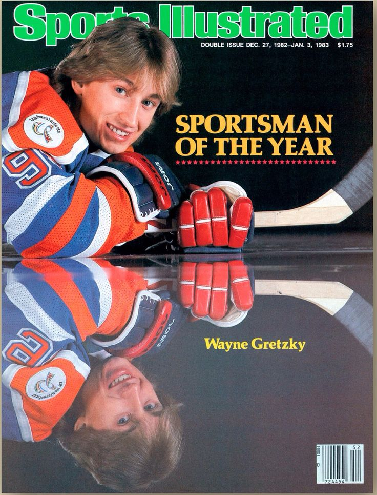 Wayne Gretzky 1982 Sportsman of the Year Sports Illustrated cover | SI.com covers #SportsIllustrated #SICovers #SportsmanOfTheYear