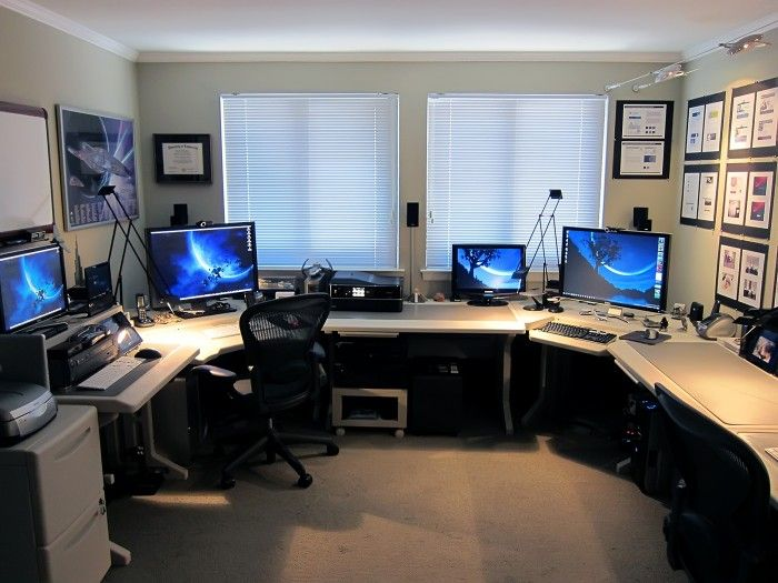174 best HomeOffice images on Pinterest Pc setup Computers and