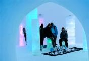 The ice camp in Zell Am See/Kaprun Austria.