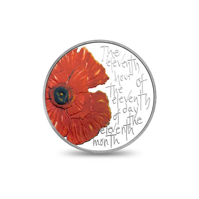 The Royal Birth 2015 United Kingdom 5 Silver Proof Coin: The Remembrance 2013 Alderney £5 Silver Proof Coin