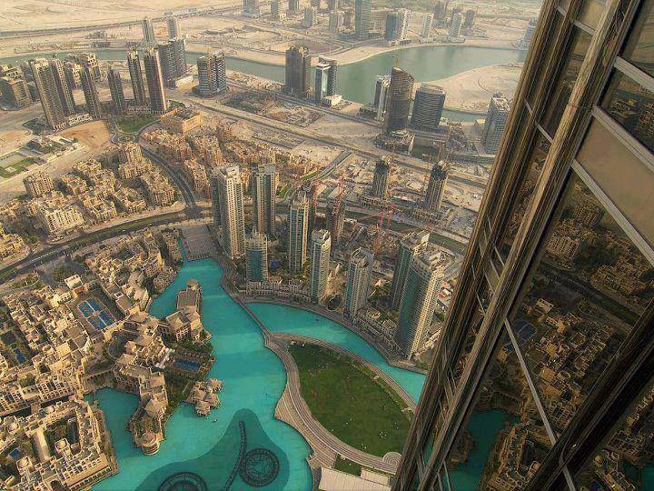 Dubai seen from Burj Khalifa @Sarvi Solutions | Best SEO in Mumbai