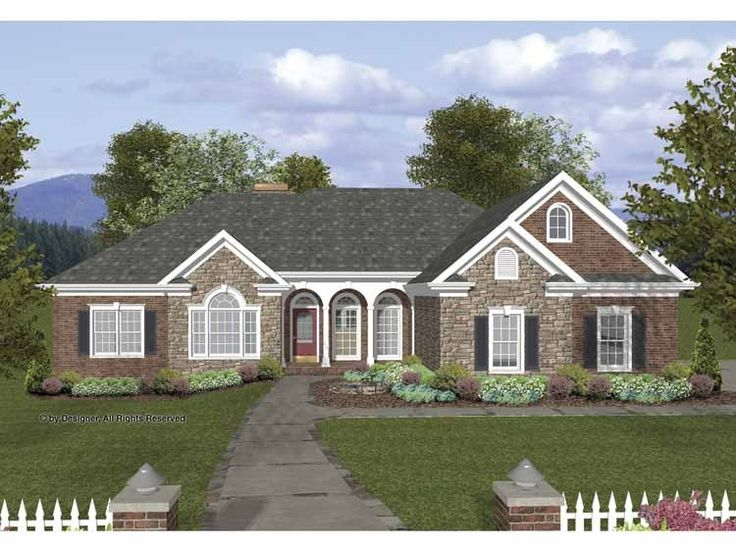 Eplans Craftsman House Plan - Four Bedroom Craftsman - 2000 Square Feet and 4 Bedrooms from Eplans - House Plan Code HWEPL65026
