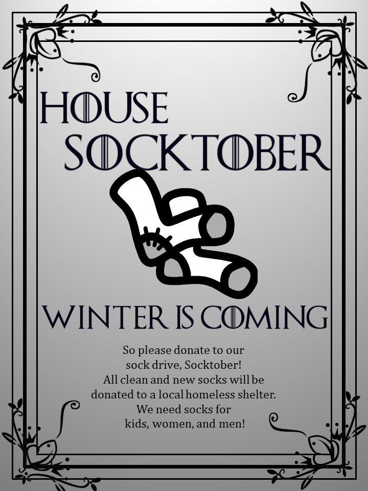 Socktober / Game of Thrones