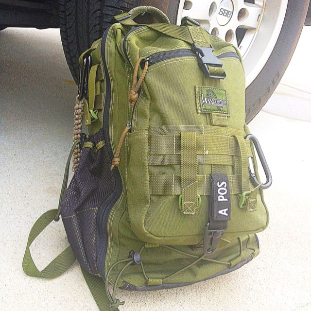 Bug Out Bag for the vehicle by Maxpedition