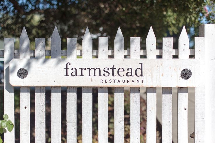 Farmstead restaurant at Long Meadow Ranch in St Helena. Seasonal farmhouse food made with organic and sustainably produced ingredients. The restaurant is situated in a former nursery barn.