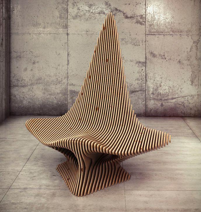 Scate Chair Oleg Soroko