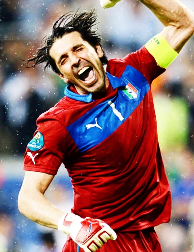 Gigi Buffon.    Great man. amazing player.    you give Italy unforgettable emotions.