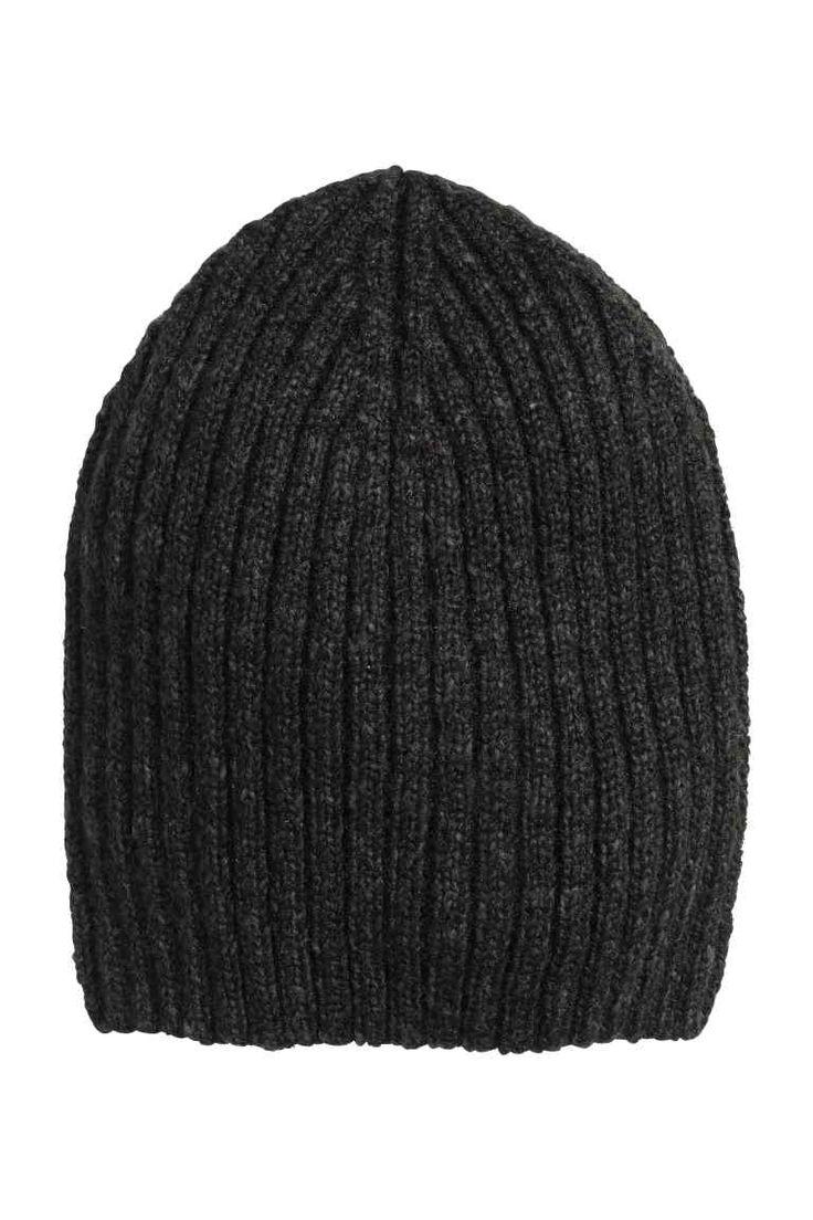Bonnet en maille côtelée | H&M