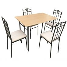 Set masa cu 4 scaune - Tamos