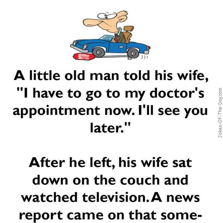 A little old man goes driving - Funny Joke, funny joke of the day, funny latest joke, Funny Old Man Joke, funny wrong way joke