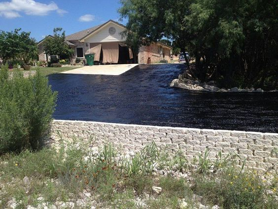 Tar installation for a new Tar and chip seal driveway | Austin, TX | Paving Contractor | RS Asphalt Paving Company