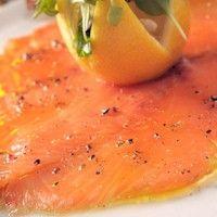 Carpaccio de salmón Thermomix