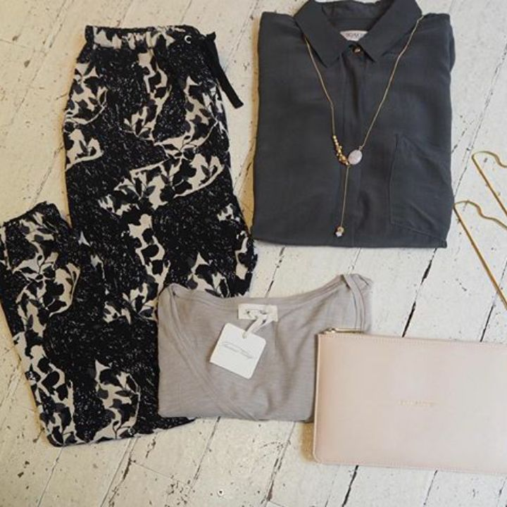Thursday Treat - We love these new arrivals, the Stella Nova printed trousers are on our treat list!