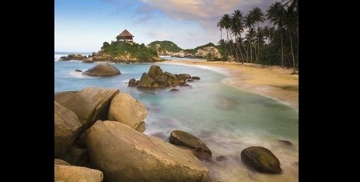 Diez lugares naturales surrealistas para visitar. Parque Tayrona