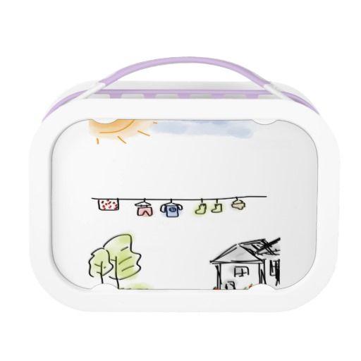 Yubo Lunchbox, Purple