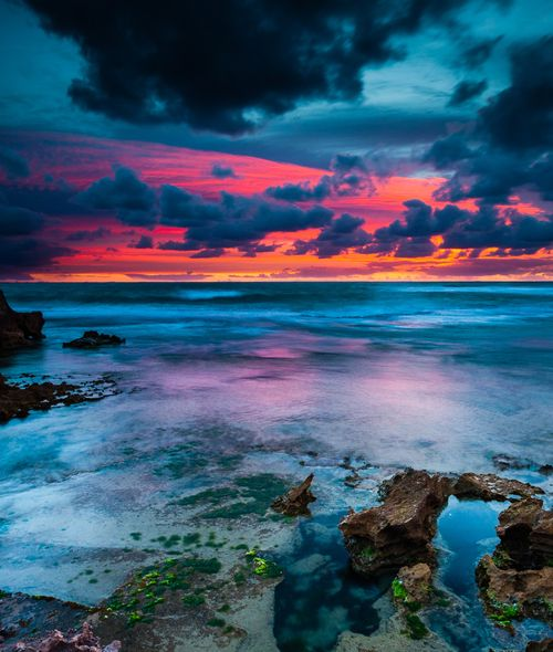 Sea Sunset, Australia photo via optically