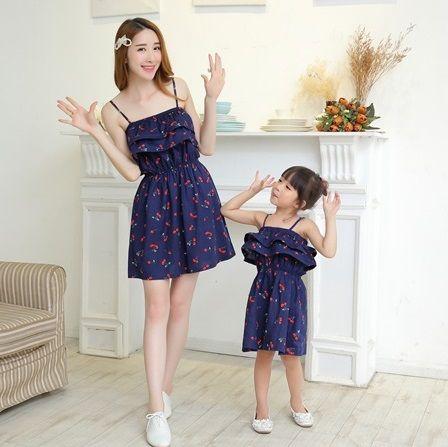 Ucuz Aile Seti Aile Giyim Eşleşen Elbiseler Elbise I 231 In