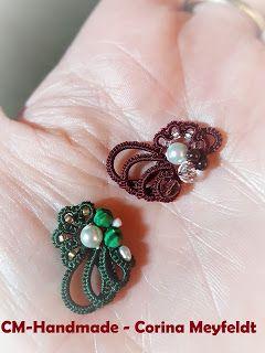 CM-Handmade: Assymetrical earrings